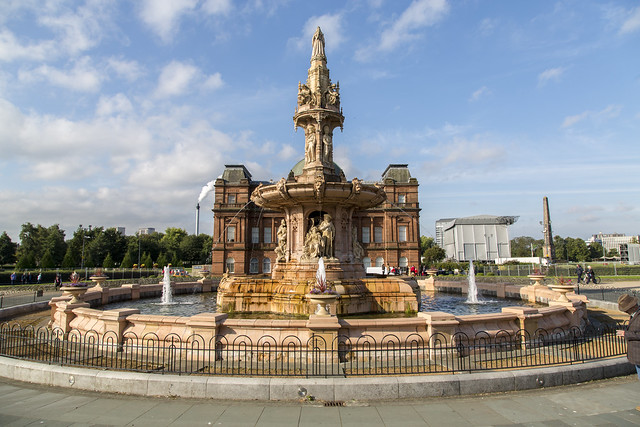 Doulton Fountain, Glasgow, Scotland