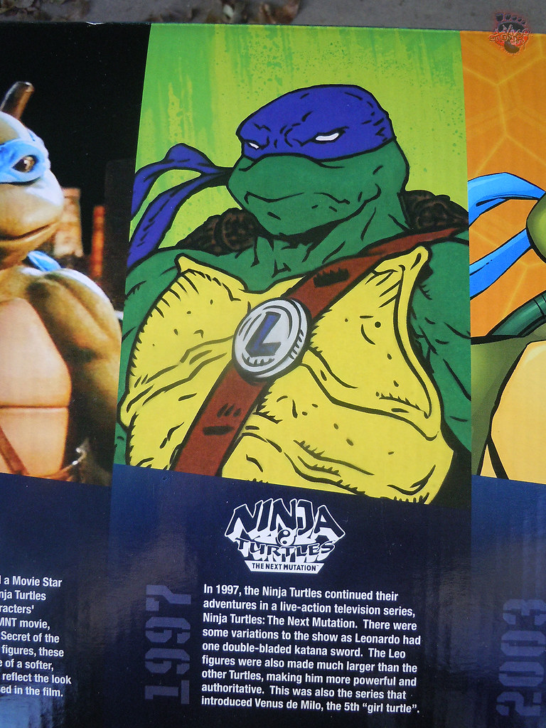 "Nickelodeon ""HISTORY OF TEENAGE MUTANT NINJA TURTLES"" FEATURING LEONARDO -  'NINJA TURTLES: THE NEXT MUTATION' LEONARDO i (( 2015 )) by tOkKa"