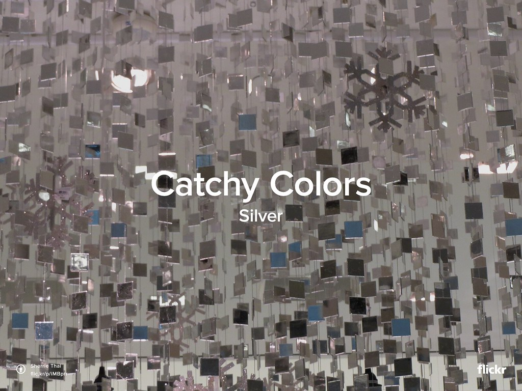 Catchy Colors: Silver