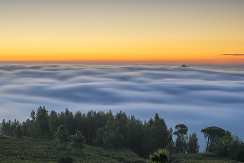 monchiqueportugal monchique faro portugal morning sunrise colours colors clouds cover above covered early mood mist fog
