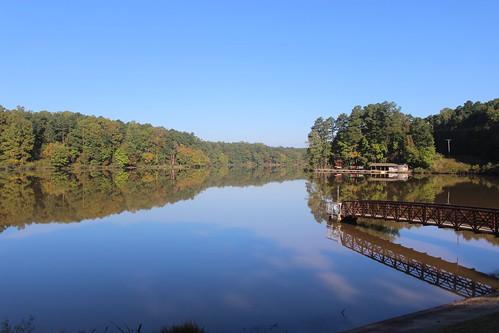umsteadstatepark reflections mornings northcarolina autumn