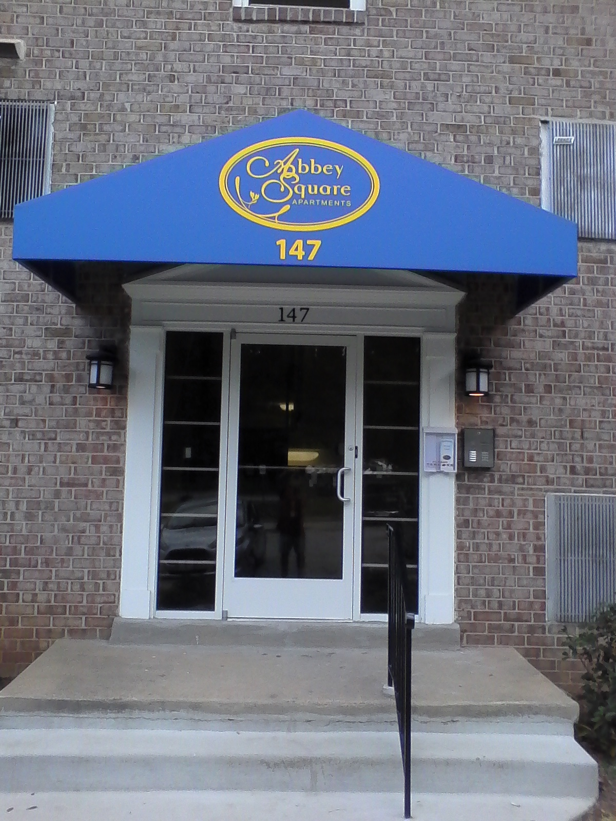 Leasing Office Awning