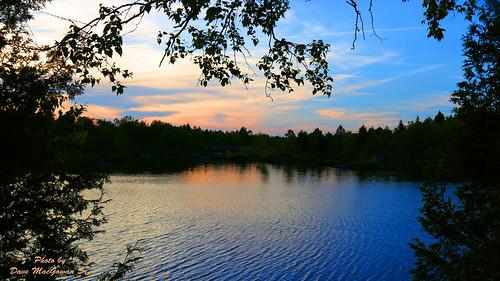 sunset lake canada nature water beauty scenery scenic newbrunswick saintjohn fisherlakes