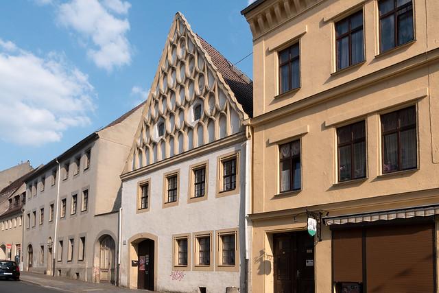 Torgau: Häuser in der Leipziger Straße