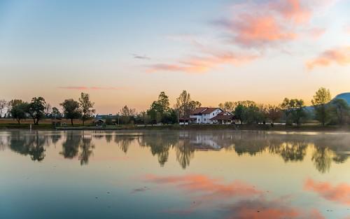 lakes lakezajarki zaprešić zajarki croatia hrvatska nikond600 nikkor2485284 sunrise vladoferencic vladimirferencic