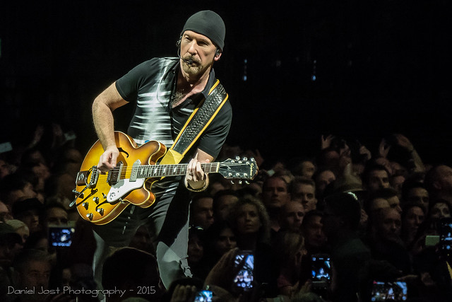 The Edge -Concert de U2 à Berlin