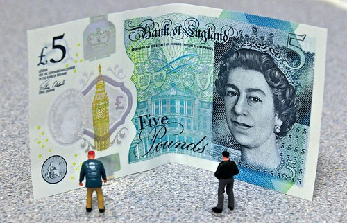 Finally Got Hold Of A New Five Pound Note | by Martin Pettitt