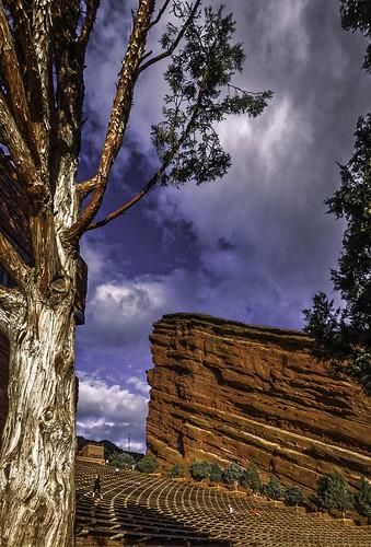 redrocks red sandstone amphitheater redwhiteblue denver colorado olympusomdem1