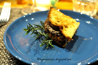 Tramezzini di panettone con fegatini alla toscana dello chef Simone Bernacchioni del Ristorante Quinoa | by mammadaia