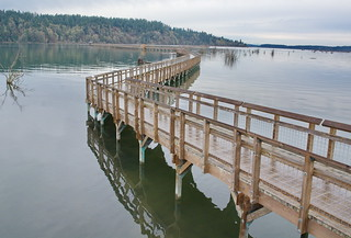 King Tide at Nisqually | by jimculp@live.com