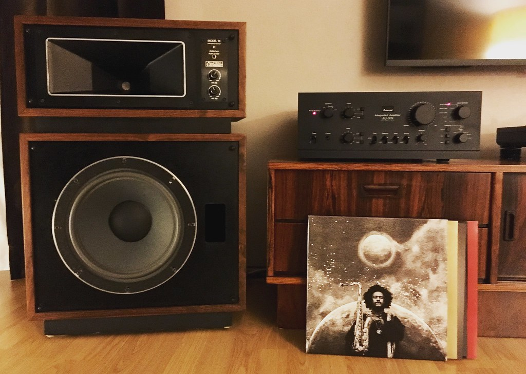 Altec Lansing Model14 Speaker meets Sansui AU-919 meets