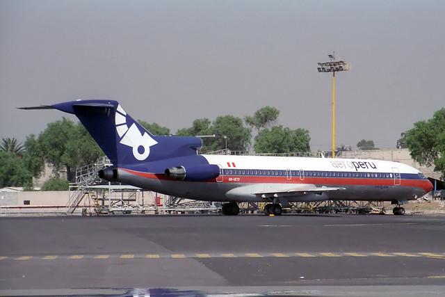 OB-1573 Boeing 727-281 Aeroperu