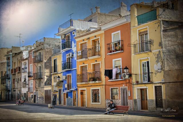 (003/16) Las casas de Villajoyosa