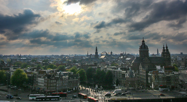 Amsterdam From Skylounge