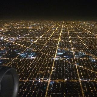 Chicago. #glowing #grid | by Shelby Elizabeth