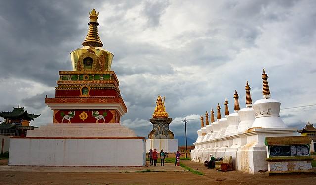 Monastery of Tsigortang, Tibet 2014