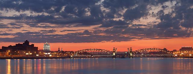 Saint Petersburg: Bolsheokhtinsky Bridge