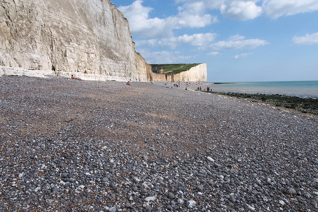 The beach at Birling Gap