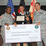 Garrison Recognition Ceremony and Regional Director Town Hall