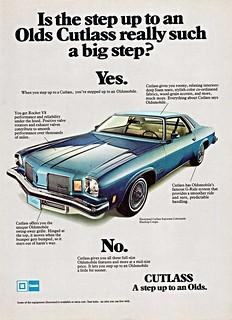 1974 Oldsmobile Cutlass Supreme Colonnade Hardtop Coupe