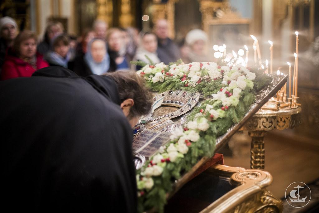 18 декабря 2015, Всенощное бдение в Николо-Богоявленском морском соборе / 18 December 2015, All-night Vigil in the St. Nicholas Naval Cathedral