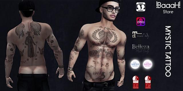 [BaaaH Store] Mystic Tattoo