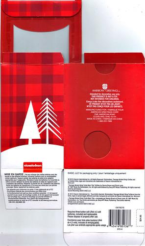 "AMERICAN GREETINGS, Heirloom Ornament Collection :: TEENAGE MUTANT NINJA TURTLES - ""DONATELLO"" MUSICAL Ornament / ..boxi (( 2015 )) by tOkKa"
