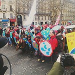 Sat, 12/12/2015 - 11:49am - Paris climate change Street March December 2015