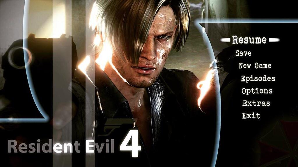 Resident evil 4 game UI, my last design 👀✏️ @instagram #g