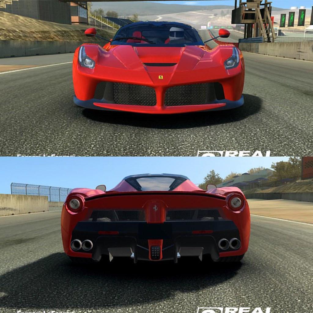Ferrari Laferrari Realracing3 Game Games Ilfotografo Flickr