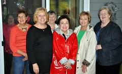 Kay Smallwood with JJ Jolliff, Janet Morgan, Sheila Hirsch, Betty Tarkenton and Mary George (Jake Jolliff''s sister).