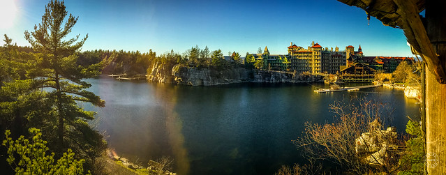 Panorama of the Lake and Hotel