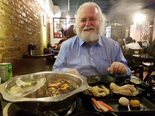 Jan Theuninck at Chinese resto NYC, 2016