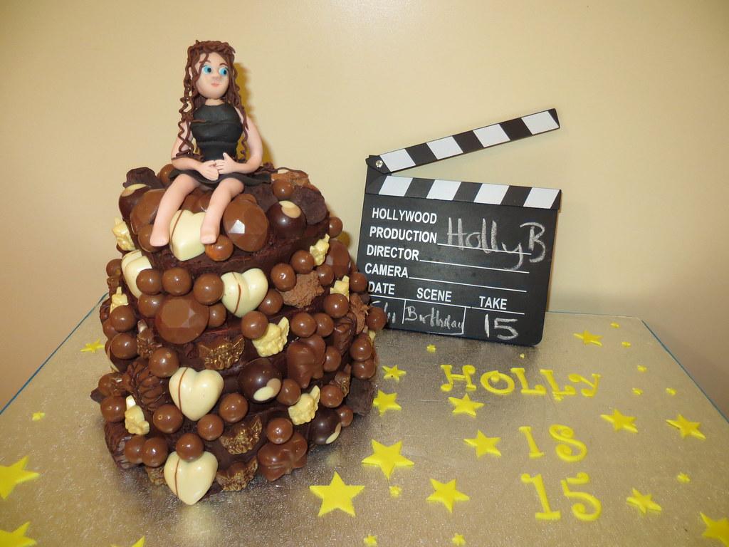 Marvelous Hollys 15Th Birthday Cake Chocoholics Dream Heidis Ca Flickr Birthday Cards Printable Riciscafe Filternl