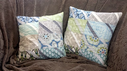 Improv Curves Pillows | by quiltyhabit
