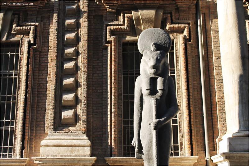 Il museo egizio.