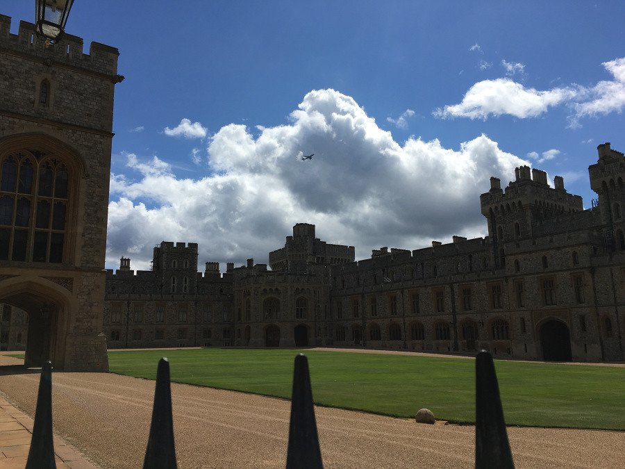 Ly, Cindy; England - TWELVE Windsor Castle 1