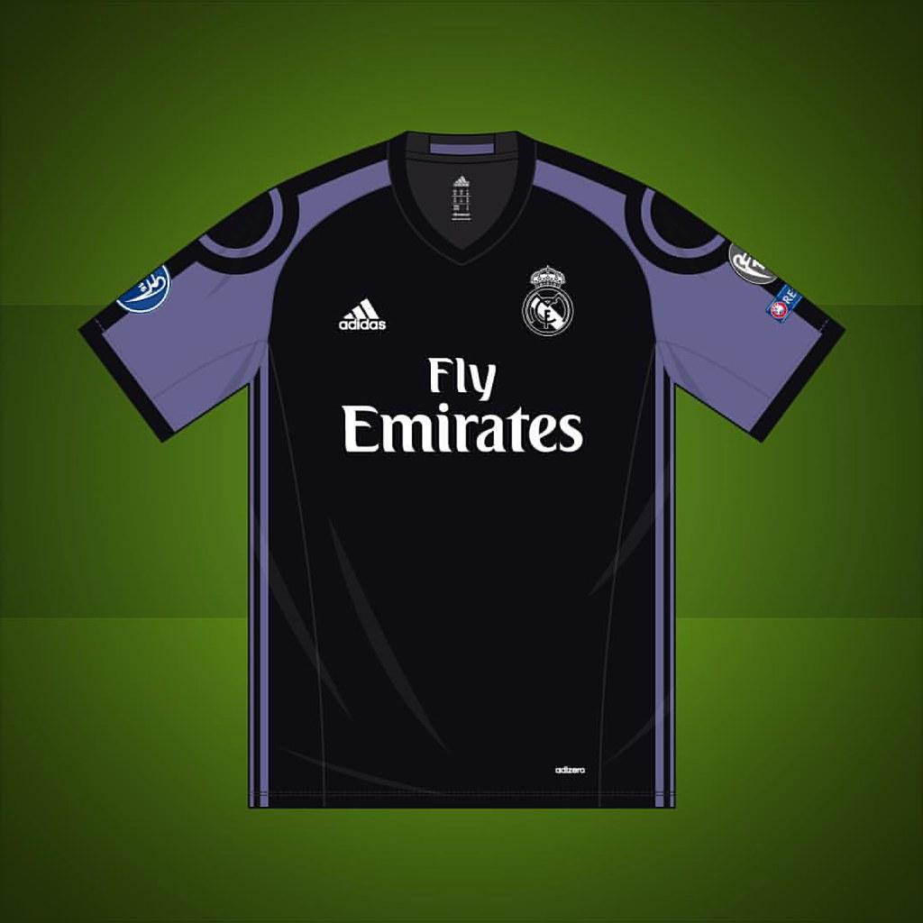 Real Madrid Champions League Third Shirt 2016 2017 Real Flickr