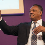 Jesse Jackson | Civil rights campaigner Jesse Jackson talks to his Book Festival audience about a lifetime of campaigning © Alan McCredie