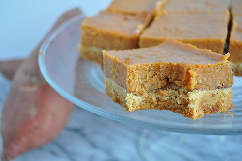 Browned Butter Sweet Potato Pie Squares | by twoyoungladies