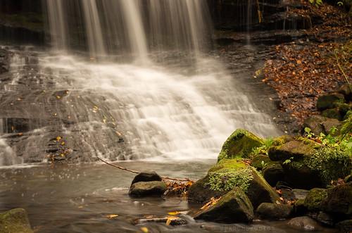 longexposure autumn fall water waterfall october pentax pennsylvania pa fallinpa westernpa springfieldfalls k5ii pentaxk5ii