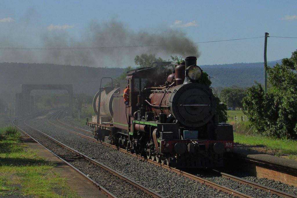 Queensland Rail Heritage - C17 974 by Shawn Stutsel