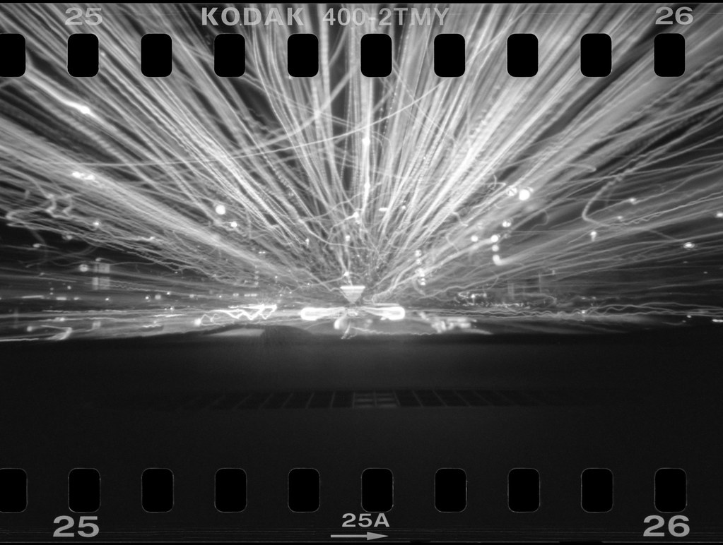 Driving In My Car - Pinhole Photography