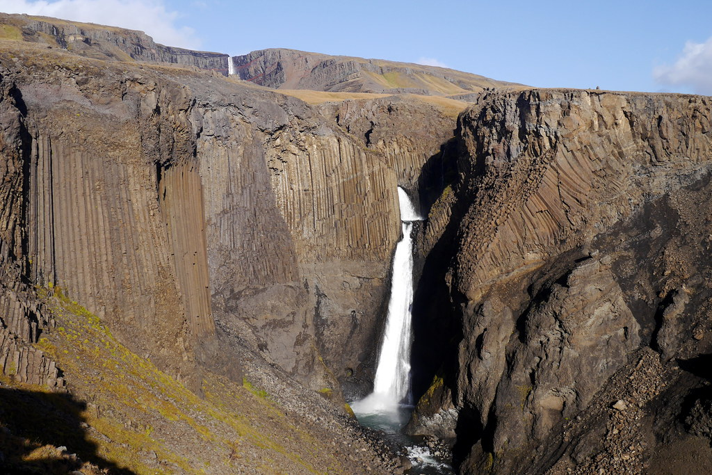 Basalt Columns and Falls