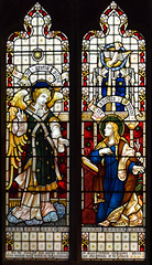 Annunciation in memory of Queen Victoria (Clayton & Bell, 1901)