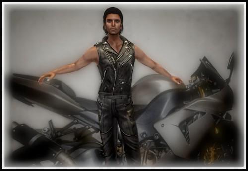 Leather Vest and Pants - Bravura | by ariannajasminesl