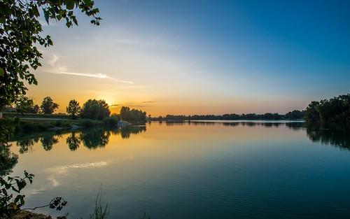sunset landscapes lakes croatia hrvatska nikkor173528 nikond600 zaprešić zajarki lakezajarki