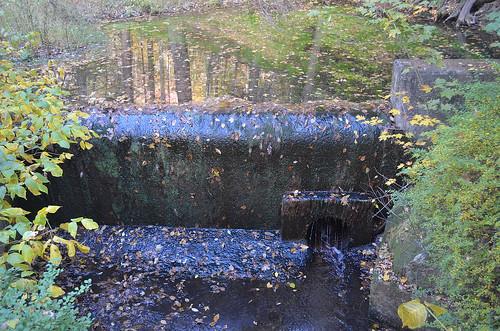 abandoned pond dam farm delawarewatergap pikecountypa dingmansferrypa