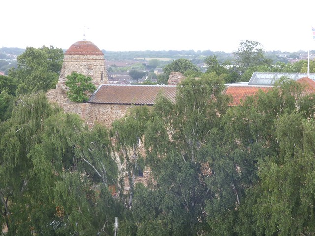 Colchester Castle from above
