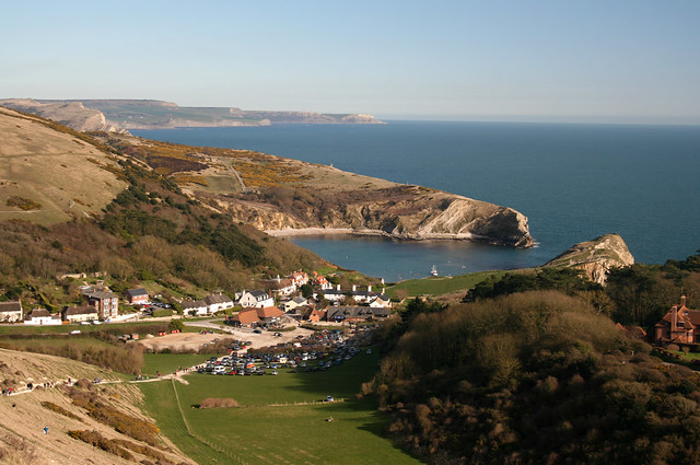 Approaching Lulworth Cove